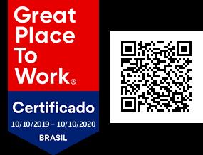 Selo Certificado GPTW 2019