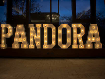 Pandora Light Up Letters