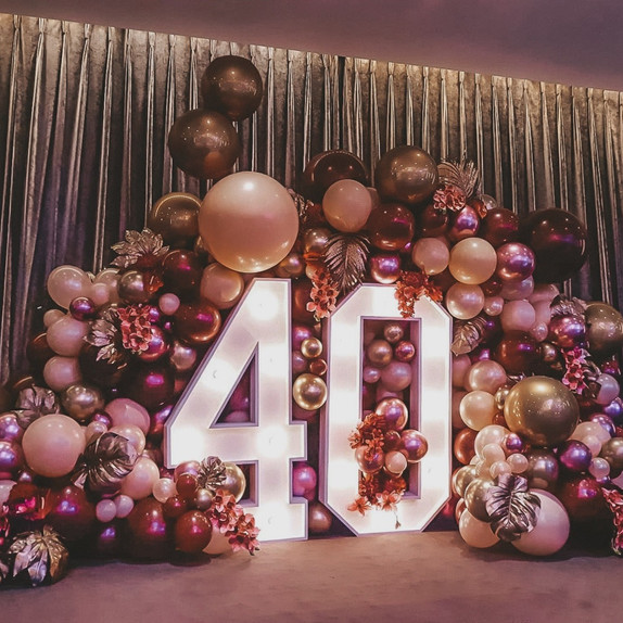 Light Up Letters & Numbers For Hire