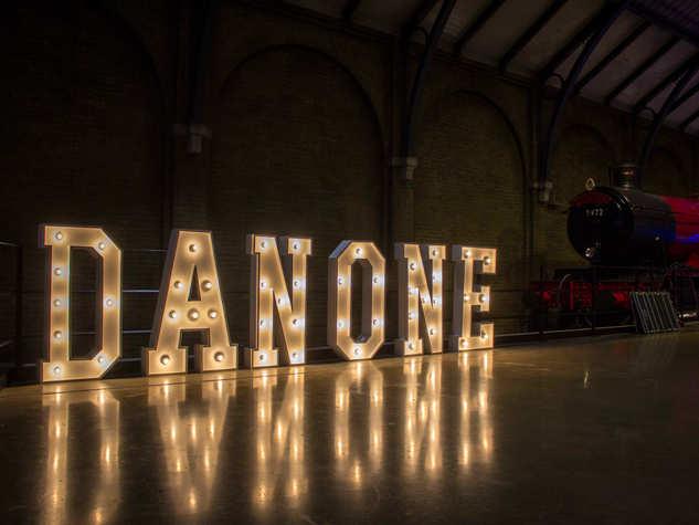 Light Up Letters - Danone