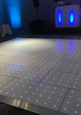 big bash RGB Pro blue LED white floor-80