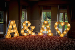 Initials Light Up Letters