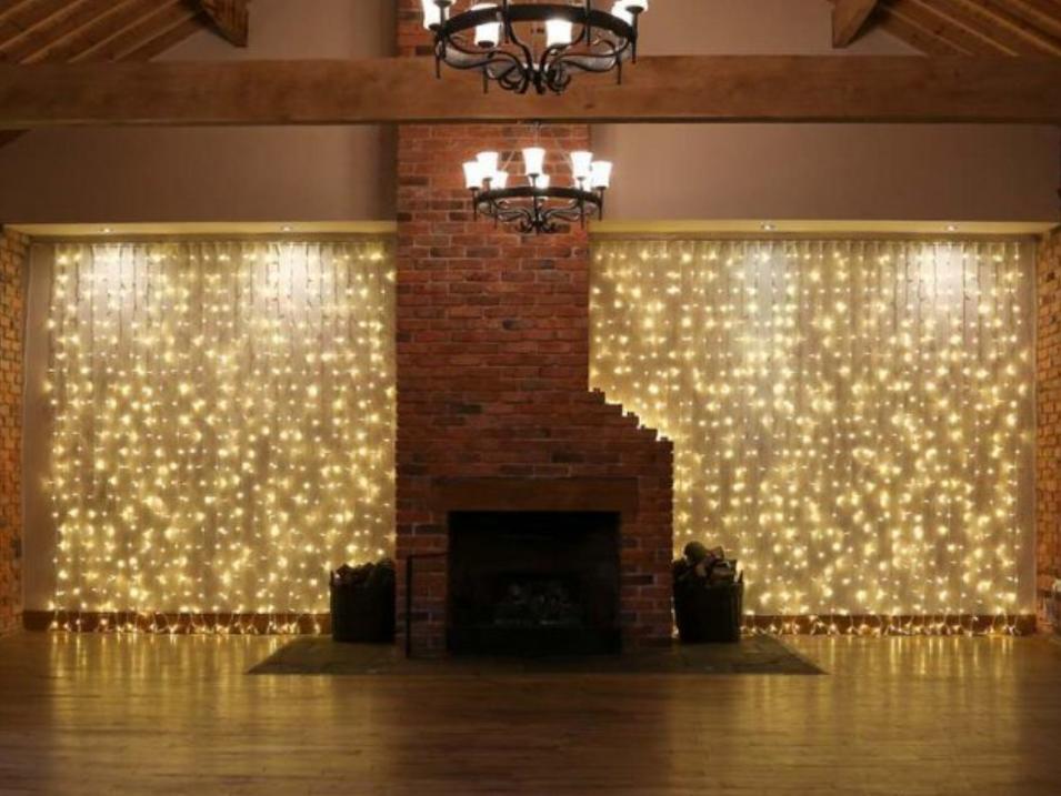 Fairy Light Curtain