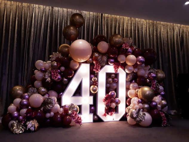 Light Up Number 40