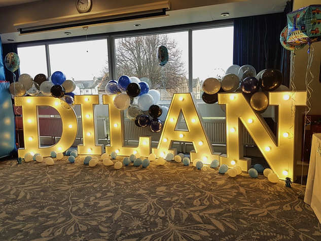 Light Up Letters Dilan