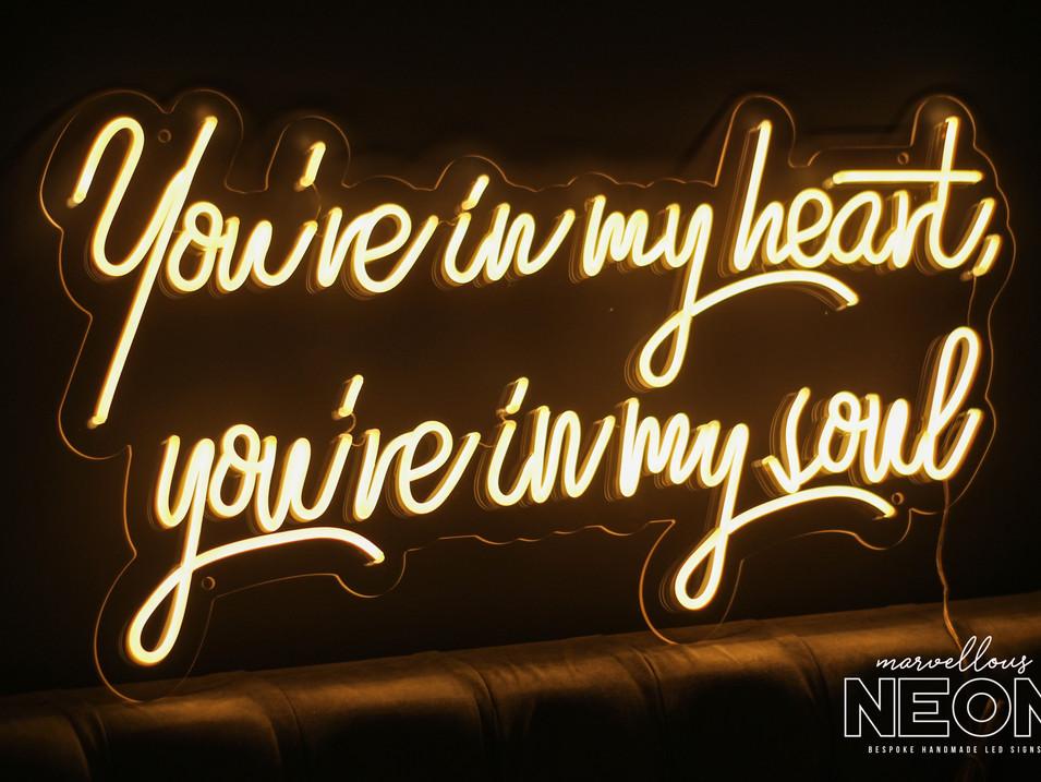 Rod Stewart Neon Sign