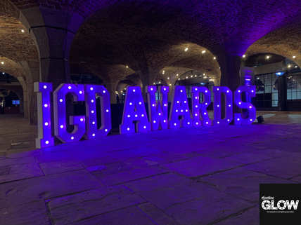 Corporate Light Up Letters