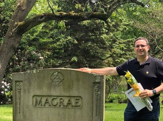 Grave of Mr. Macrae