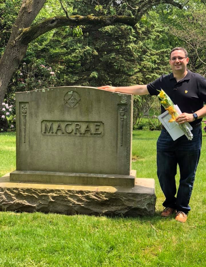 Grave of Mr. Macrae