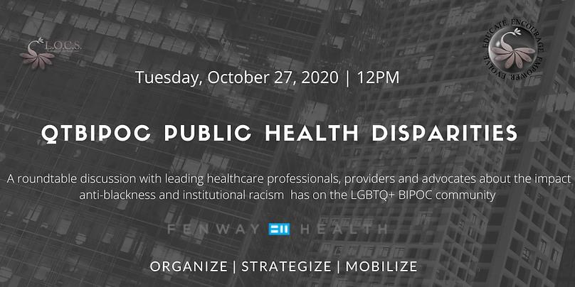 QTBIPOC Public Health Disparities 2020 p