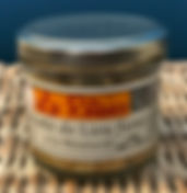 Emietté de lieu fumé à la moutarde