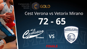 Cest Verona vs Vetorix Mirano | 72 - 65