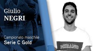 Vetorix Mirano:  il veterano Giulio Negri resta a bordo