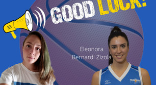 Good luck Eleonora e Sofia