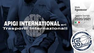Pallacanestro Mirano, Apigi International è il nuovo main sponsor della C femminile