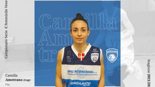 Mirano, la squadra femminile riparte da Camilla Ametrano