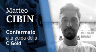 Matteo Cibin Confermato alla Guida della C Gold