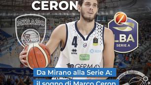 Da Mirano alla Seria A: Il sogno di Marco Ceron