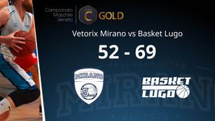 Vetorix Mirano - Basket Lugo | 52 - 69