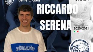 Talento ed esperienza in cabina di regia: confermato Riccardo Serena