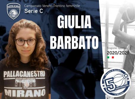 New entry per l'Apigi Mirano: ecco Giulia Barbato