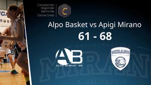 Alpo Basket - Apigi Mirano | 61 - 68