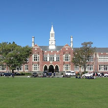 ニュージーランド高校留学 Christchurc Boys' High School  クライストチャーチボーイズハイスクール