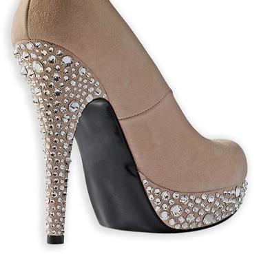 Bilhantes em calçado