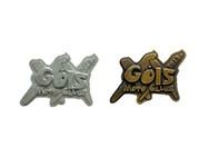 Metallic pins