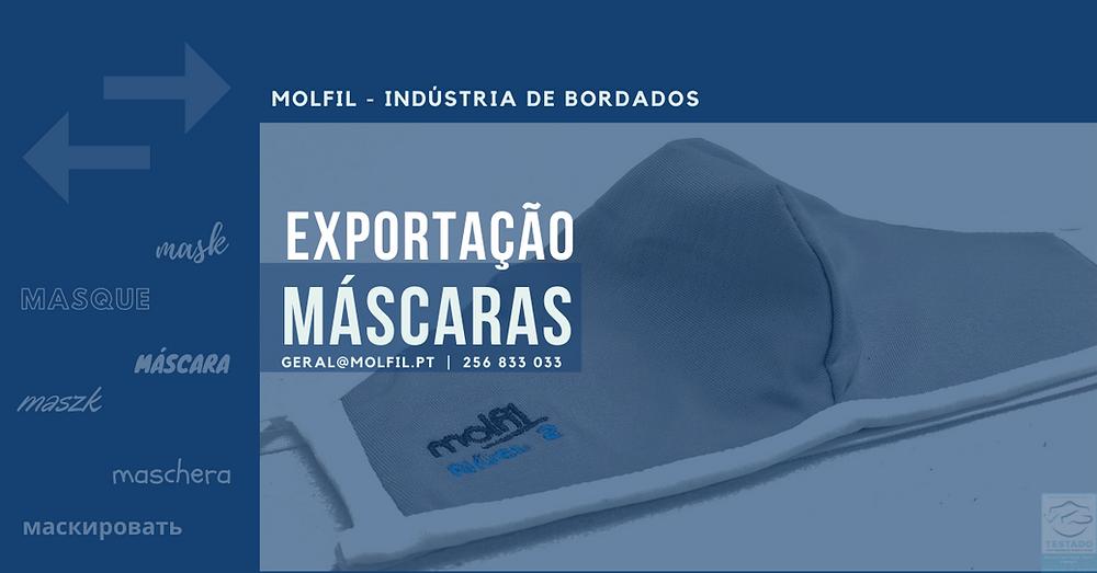 Molfil Indústria Mascaras Bordadas