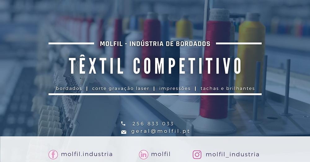 Molfil Indústira de Bordados - Têxtil Competitivo