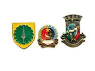 Enamelled badges