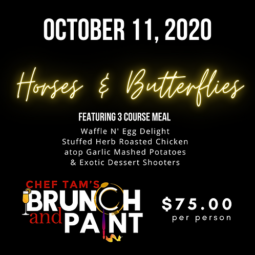 Brunch N Paint- Sunday October 11, 2020