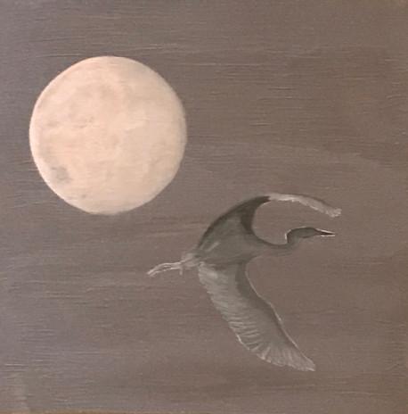 Crane & Moon