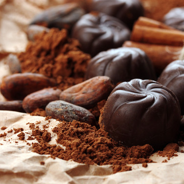 Süße Versuchung: Schokolade, Karamells, Gebäck