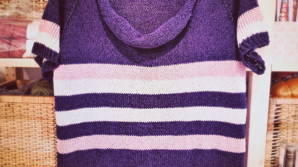 Knitting pattern for a Rheinfalltee (designed by Butzeria)