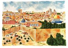 Micro calligraphy Book of Psalms Jewish art