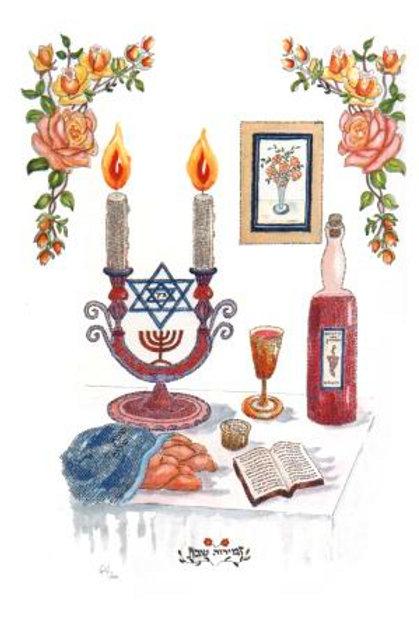 Micro calligraphy Jewish art