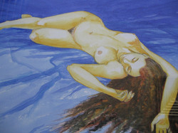 Blue Nude. SOLD