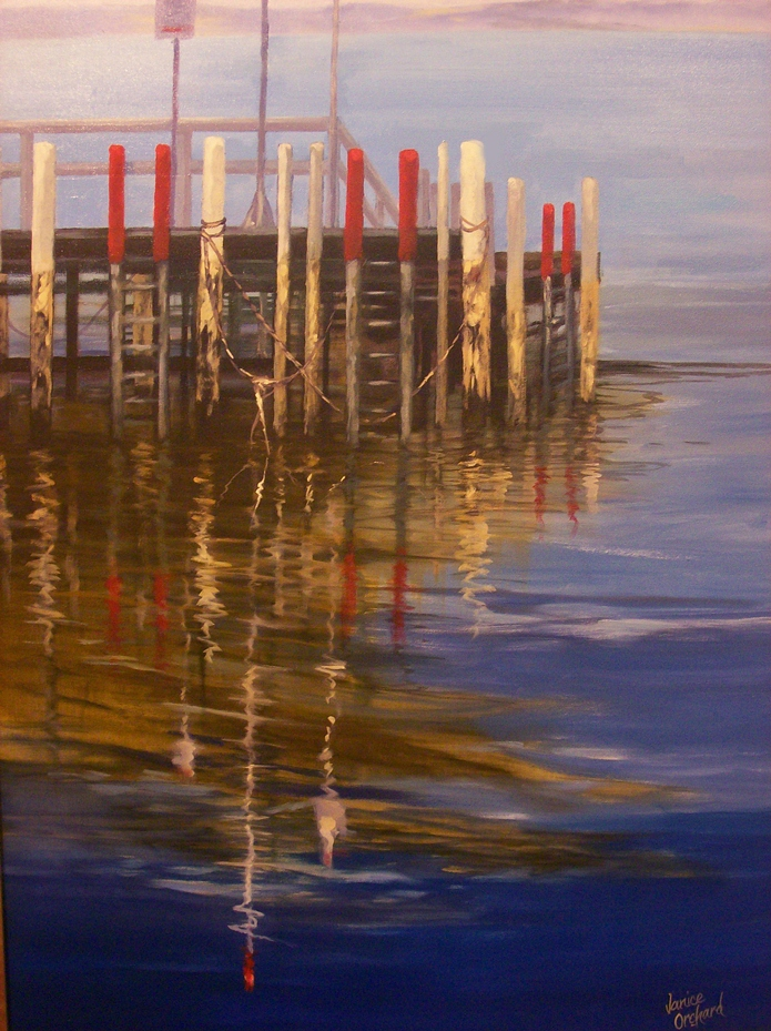 The  Old Jetty. SOLD