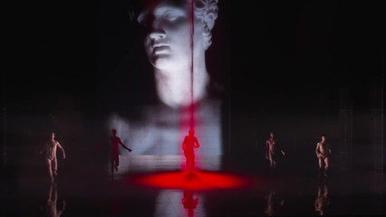 Hadrian (2018) Photo was used as part of the projection designed by Laurie- Shawn Borzovoy, directed by Peter Hinton, libretto by Daniel MacIvor, composed by Rufus Wainwright