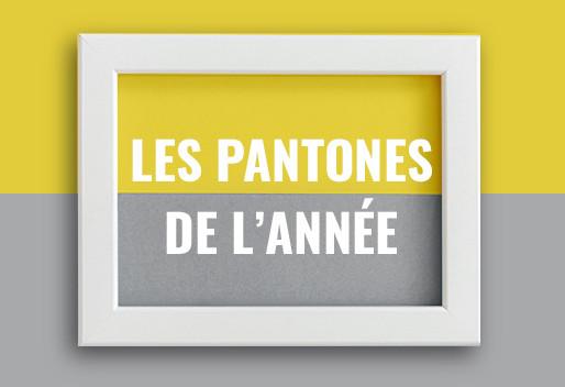LES PANTONES DE L'ANNÉE