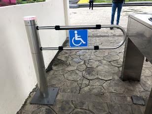 Torniquete de acceso