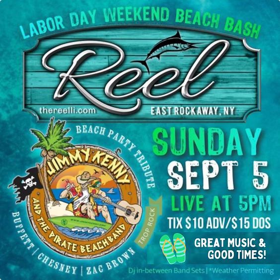 Labor Day Weekend Beach Bash
