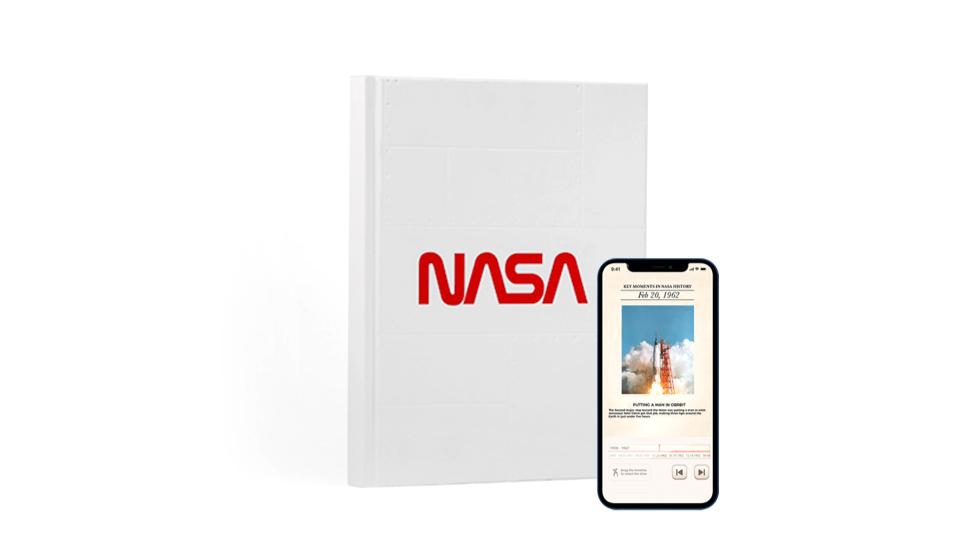 NASA AR Notebook White