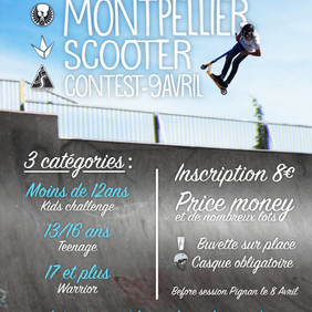 Montpellier Scooters Contest support by Pro Riders 34