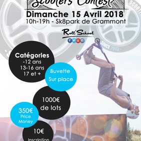 Montpellier Scooters Contest 2018