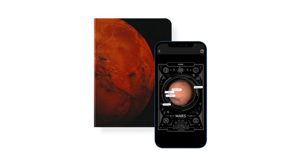 Mars 火星 AR 筆記本