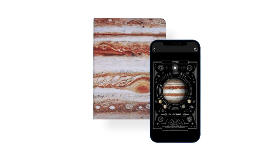 Jupiter 木星 AR 筆記本