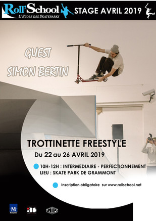 STAGE AVRIL TROTTINETTE FREESTYLE